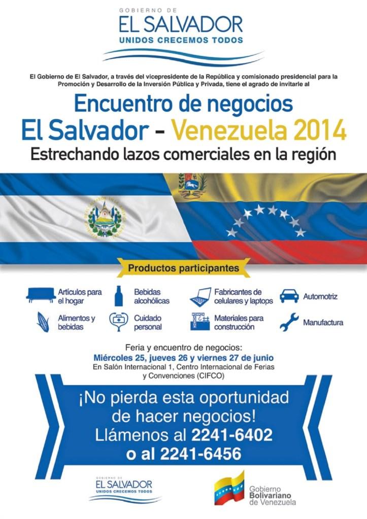 encuentro de negocios comercial venezuela