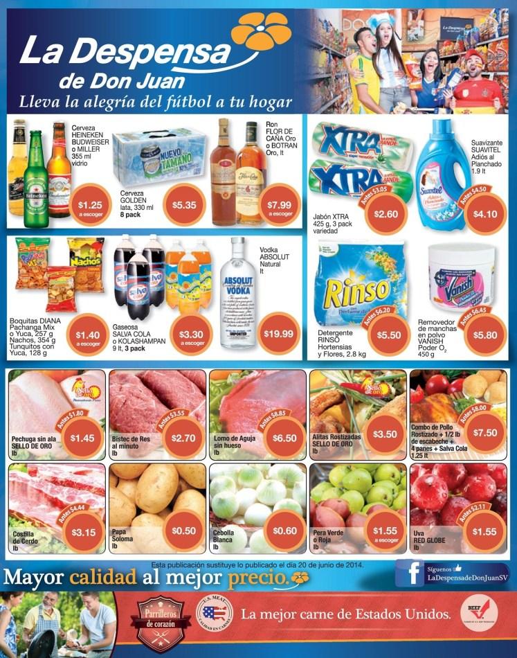 las Ofertas de LA DESPENSA DE DON JUAN carnes USA imported - 27jun14