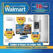 DESTACADO promociones WALMART catalogo de compras especial del hogar