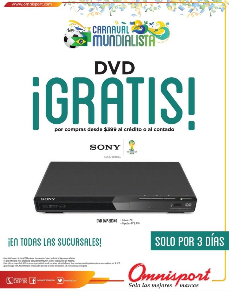 DVD GRATIS este fin de semana todas las sucursales - 04jul14