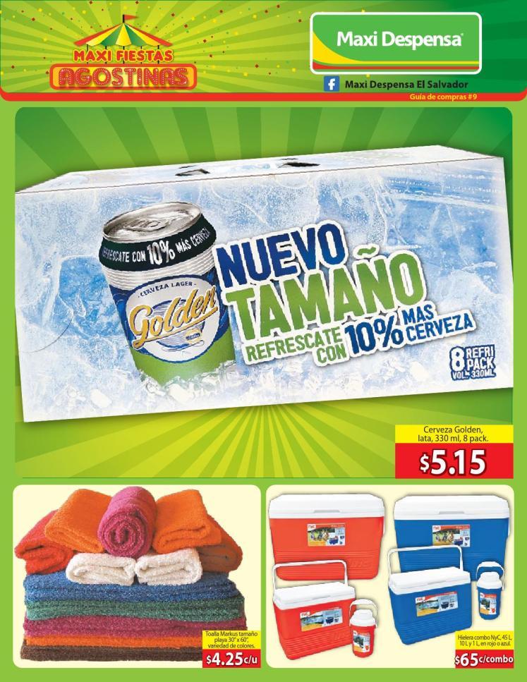 Maxi Despensa EL SALVADOR guia de compras AGOSTO 2014