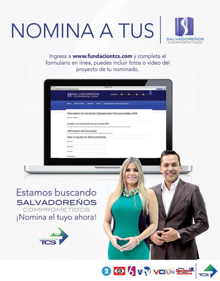 Nomina a tus SALVADOREÑOS comprometidos Fundacion TCS