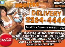 HOOTERS restaurant famosas alitas wigns
