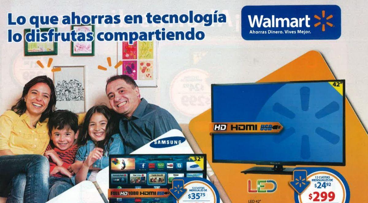 ofertas WALMART nueva Guia de Compras Octubre 2014