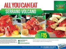 All you can eat PROMOTIONS KREEF delimarket jamon serrano - 28oct14