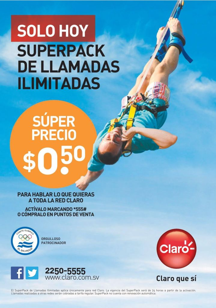 CLARO promociones en tus recargas - 21oct14