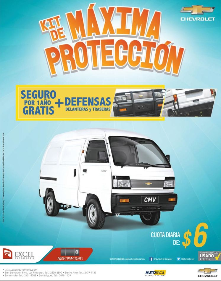 KIT de maxima proteccion para tu auto panel - 21oct14