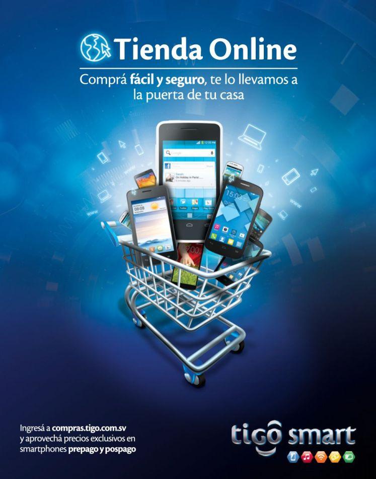 Nueva Tienda Online TIGO el salvador