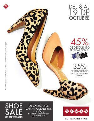 destacado CALZADO SIMAN shoe sale octubre 2014