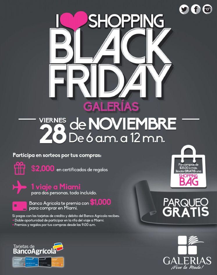 GALERIAS escalon I love shoppin black friday - 28nov14