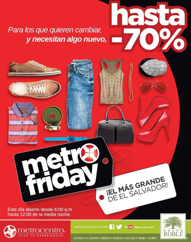 Horarios VIERNES NEGRO metrocentro el salvador - 28nov14