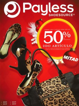PAYLESS DESTACADO folleto ofertas nov 2014