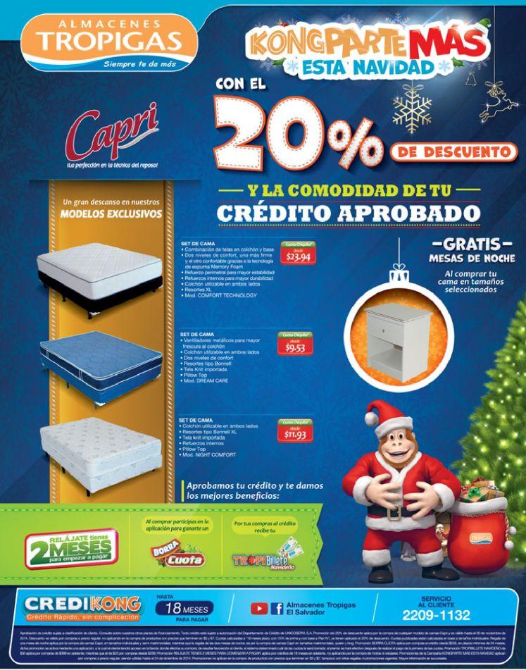 promociones almacenes tropigas de navidad - 15nov14