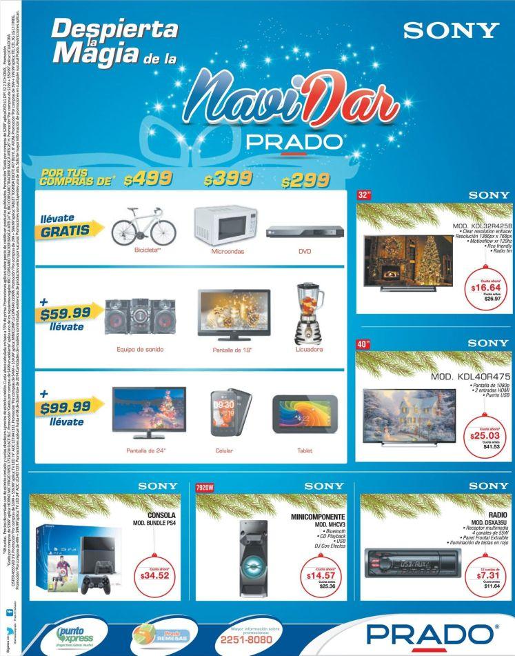 Alamcn PRADO promociones SONY de navidad - 05dic14