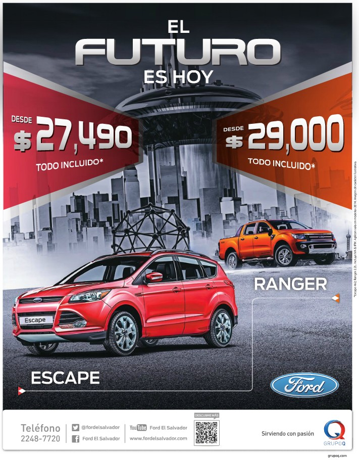 Merry Christmas FORD ranger and FORD escape
