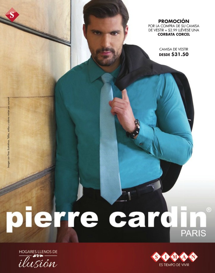 Pierre cardin PRATIS collection and promotion to gentlemans - 10dic14