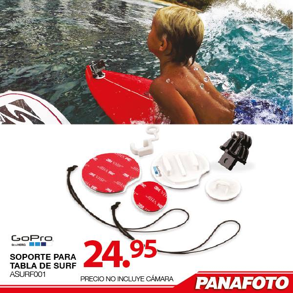 Go pro accesories surt table support PANAFOTO - 02ene15
