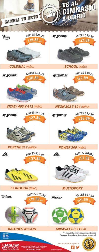 calzado deportivo JOMA by jaguar sportic - 09ene15