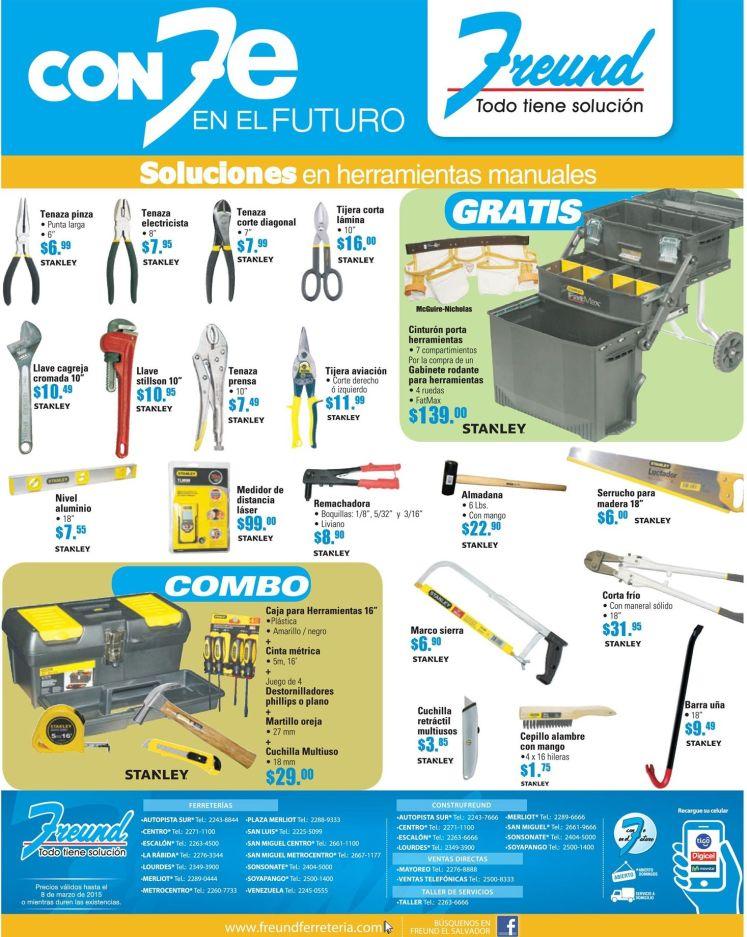 Ferreteria FREUND ofertas en herramientas - 23feb15