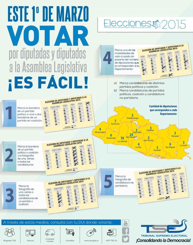 PASO para votar elecciones 2015