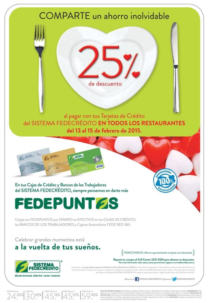 love diner SAN VALENTINES promotions - 12feb15