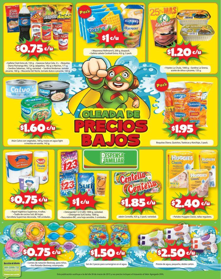 Atun sardinas boquitas snack MAS OFERTAS despensa familiar - 27mar15