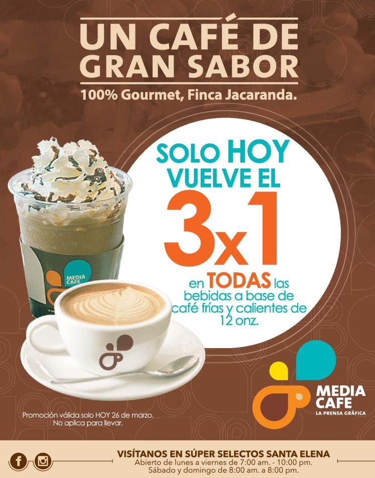 CAFE gouret Finca Jacaranda 3x1 solo hoy - 26mar15