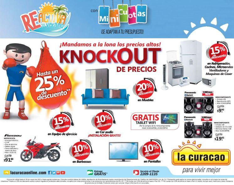 Descuento en todo el almacenes LA CURACAO electrodomesticos - 27mar15