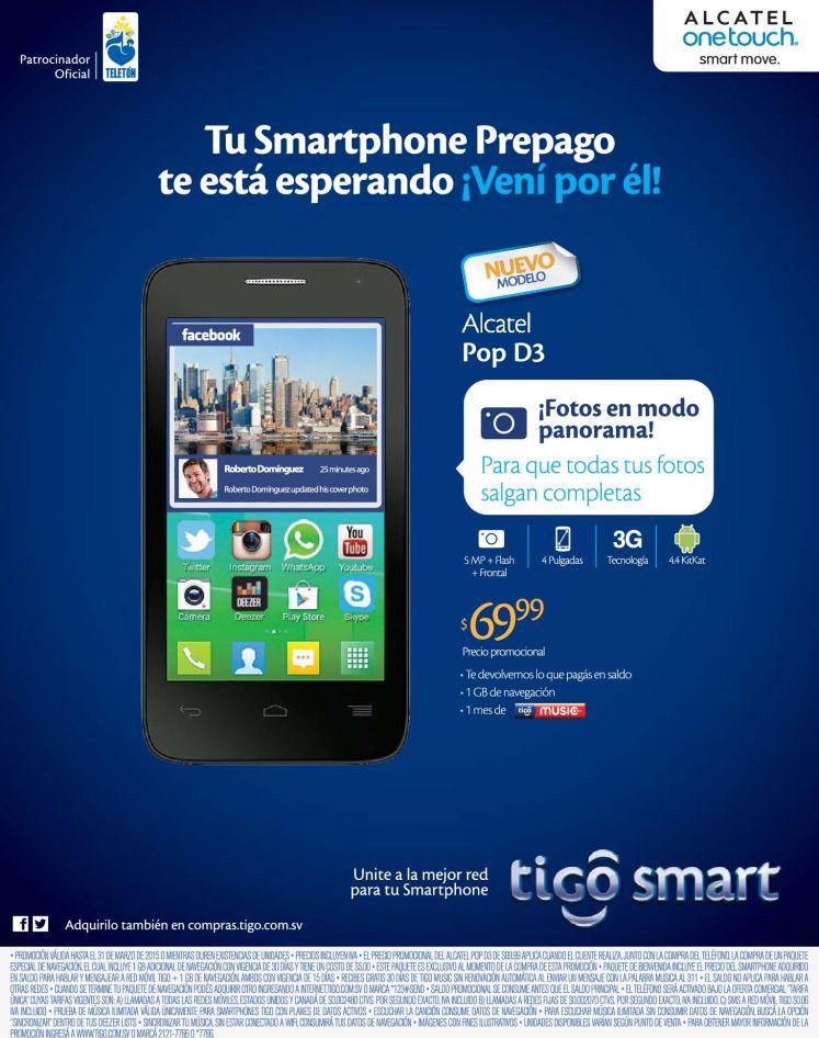 Fotos panoramicas con tu smartphone alcatel via TIGO