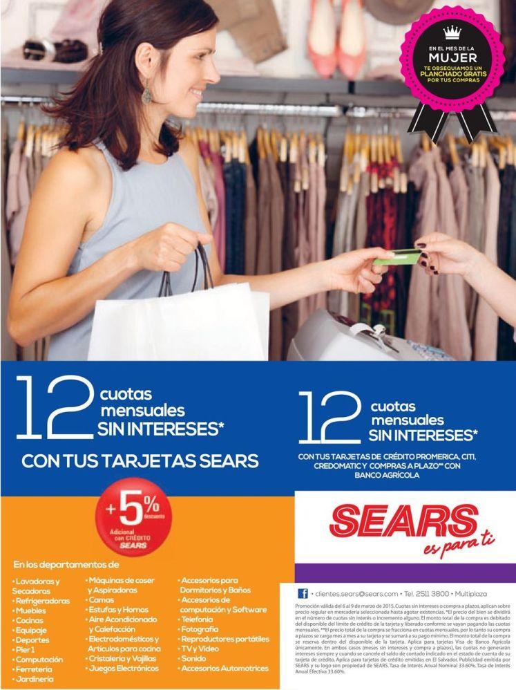 Mes de la mujer PROMOCIONES sears - 06mar15