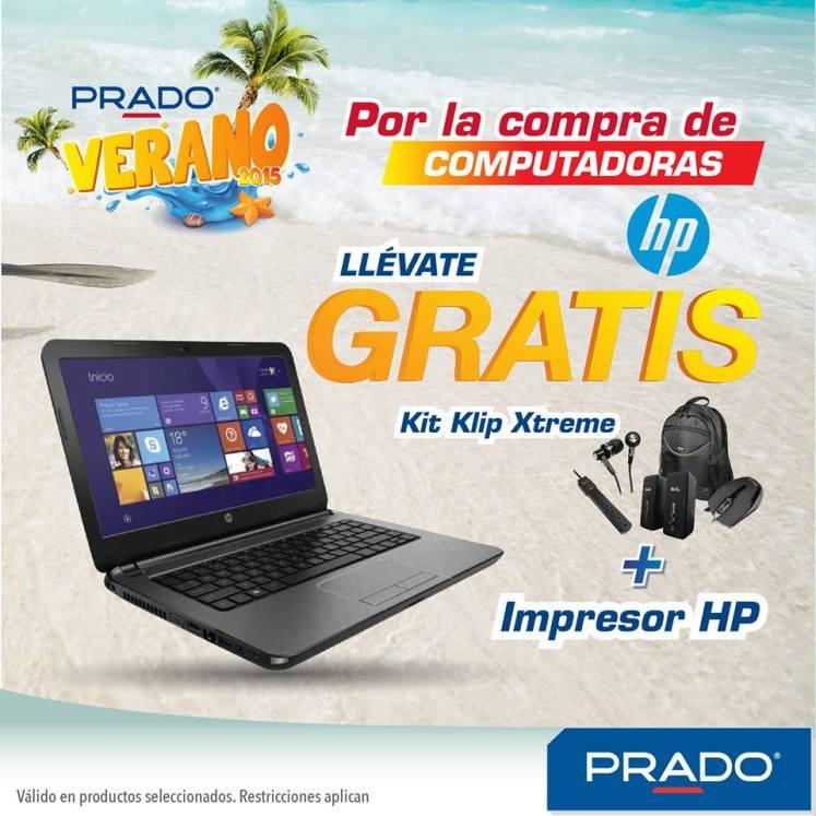 Por la compras de computadoras PRADO promociones - 10mar15