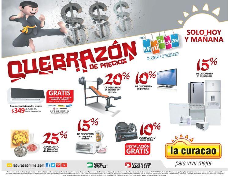 Quebrazon de precios en la CURACAO - 14mar15