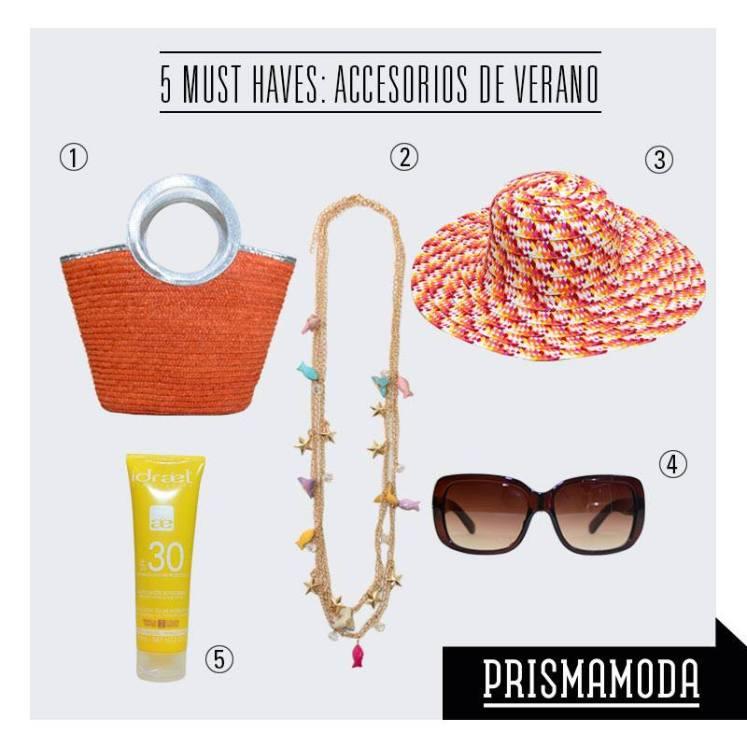SUMMER accesorios 5 must have by Prisma MODA
