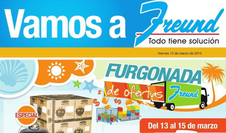 cuadernillo de promociones FREUND Furgonada