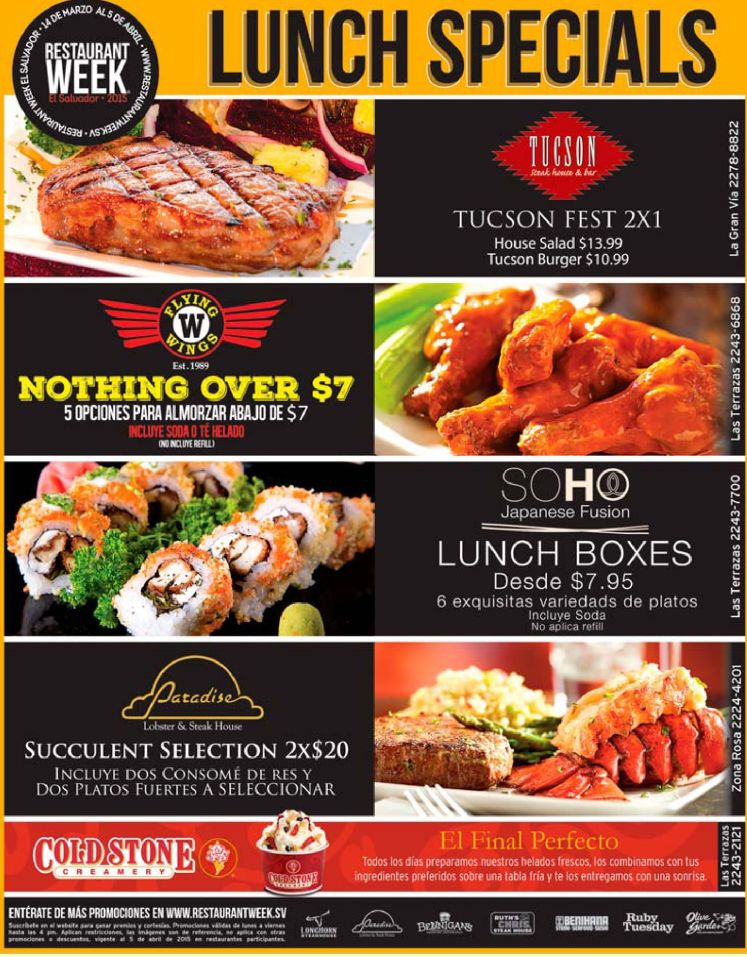 more restaurant week LUNCH SPECIAL and delicious - 31mar15