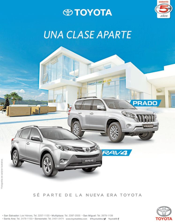 premium motors TOYOTA PRADO and RAV4 suv urban