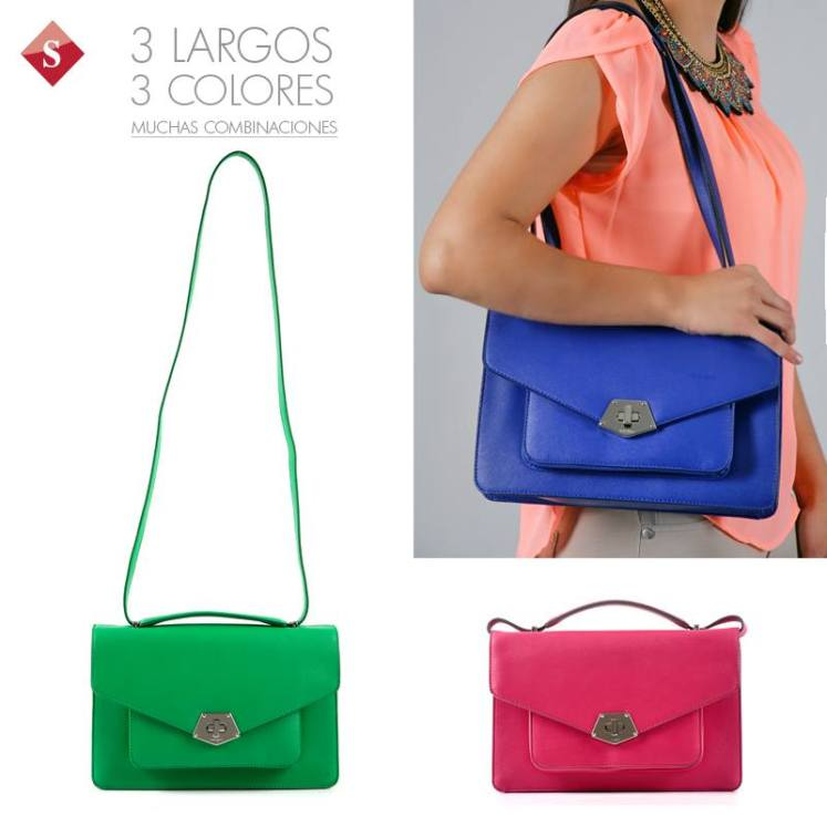 Bolsos NINE WEST en Siman colores y estilos de moda - 07abr15