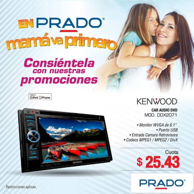 KENWOOD car system audio and video FOR MOM