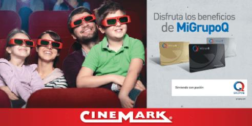 Membership CARD Mi GRUPOQ el salvador cinemark movies