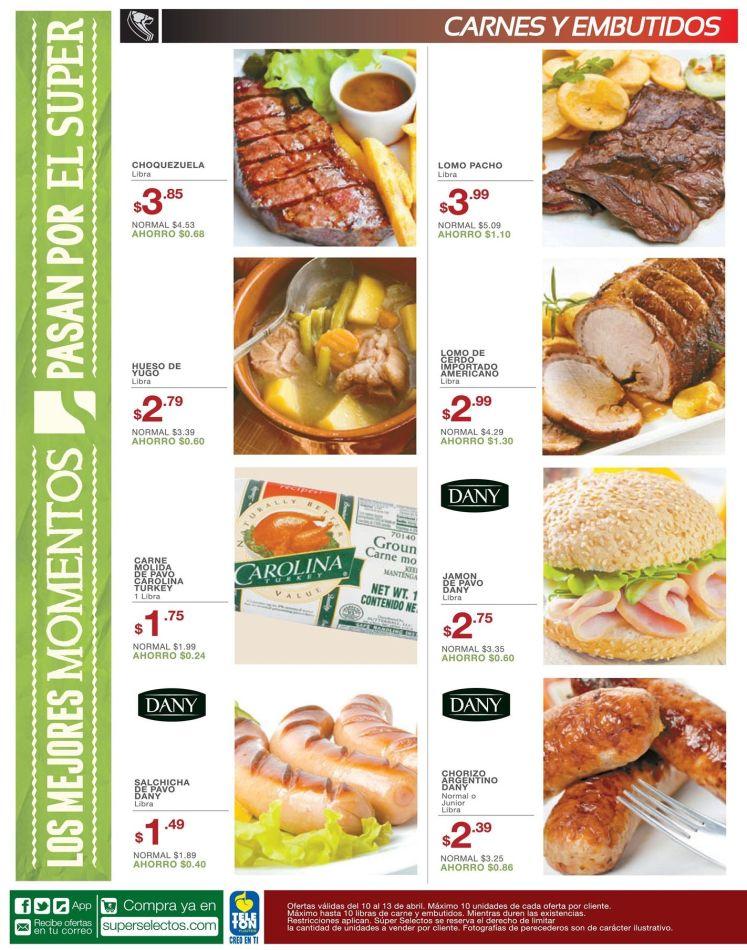 ofertas de hoy en carnes y embutidos - 10abr15
