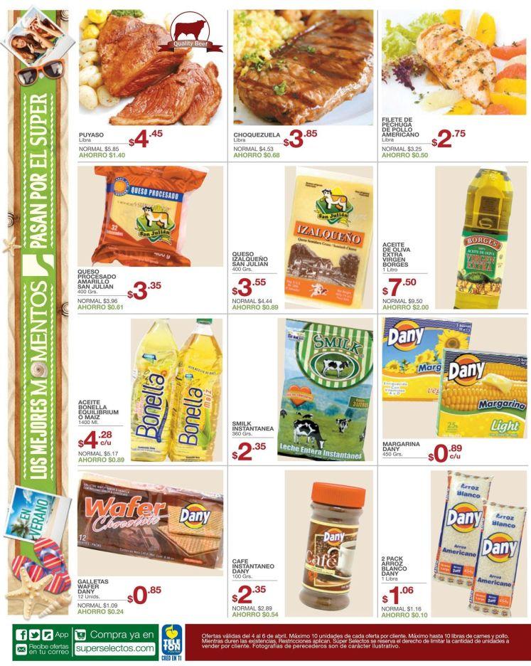 super selectos arroz aceite leche y cafe - 03abr15