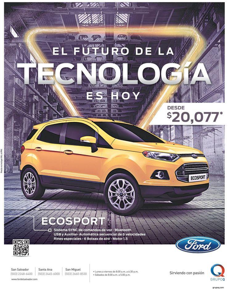 AUTO deals FORD eco sport 2015 savings