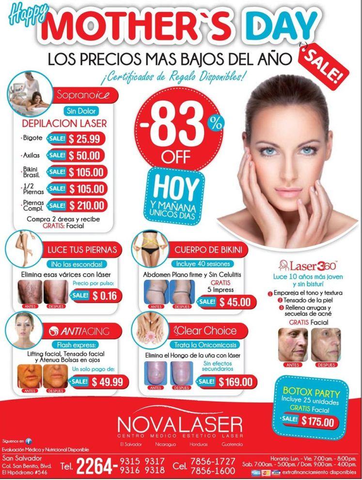 Happy mothers day Tratamiento de belleza - 07may15