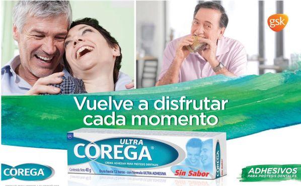 ULTRA COREGA crema adhesiva para protesis dentales