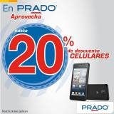 celulares nuevos con 20 OFF en PRADO elsalvador