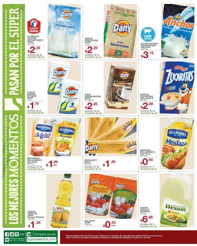 cereales granos canasta basica en oferta - 19may15