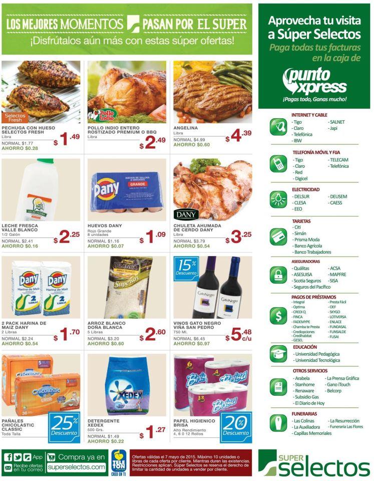 super selectos compras ofertas todos los dias - 07may15