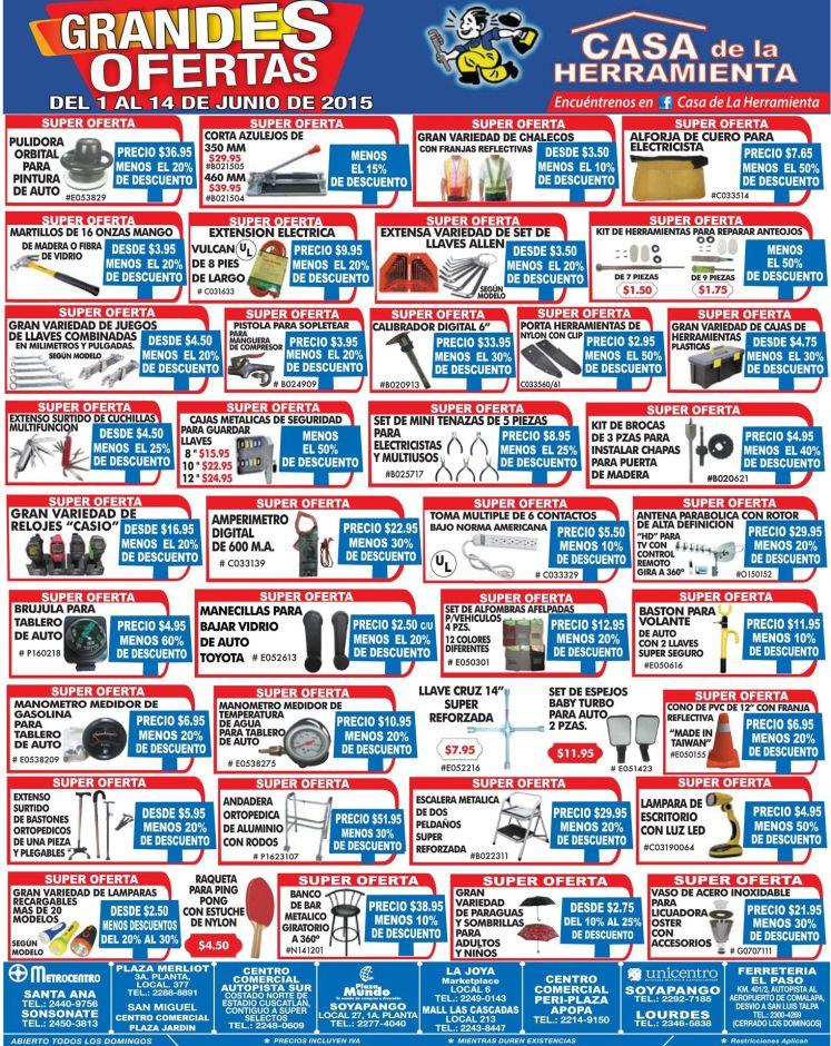 Busca alguna herramienta ira estas grandes ofertas - 01jun15