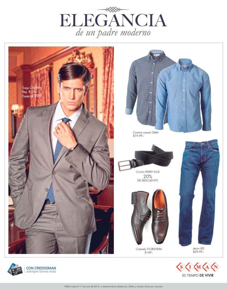 SIMAN ofertas en trajes para caballeros JEANS and shirts
