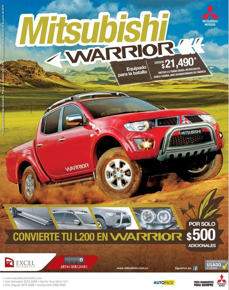 car deals Mitsubishi L200 warrior 2015